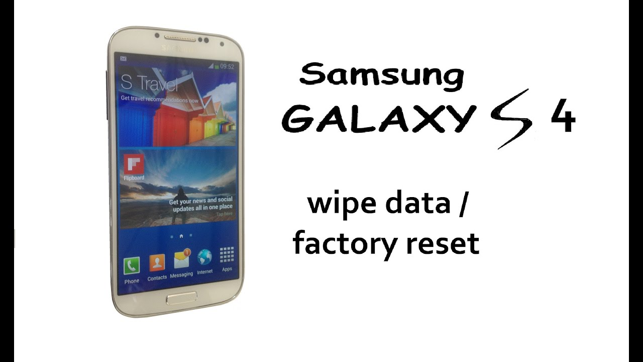 How to Wipe Samsung Galaxy S4 Data / Factory Reset - iFixit