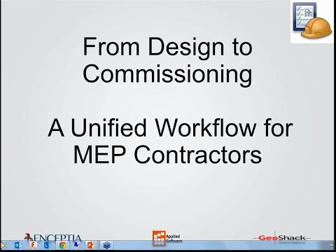 From Design to Commissioning  A Unified Workflow for MEP Contractors