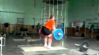 Gennady Muratov Snatching 190 KG (418 lbs)