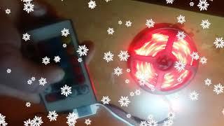 LED strip rgb (Обзор лед ленты с пультом)