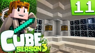 Minecraft: Cube S3 - Episode 11 - UFO ABOVE NORTHSIDE (Minecraft Cube SMP Season 3)