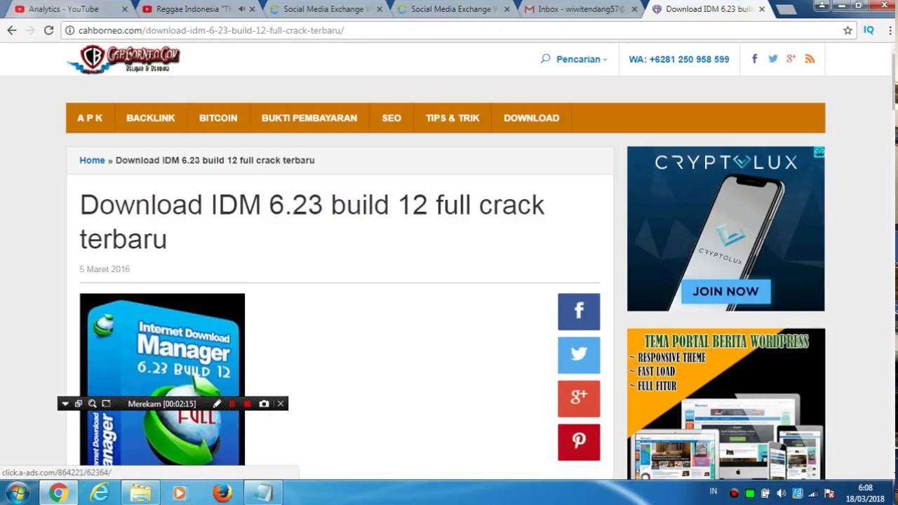 cara mudah download idm+crack
