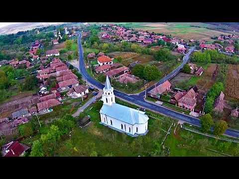 Biserica Din Luna De Jos Văzută De Sus - By Andrei Vaida