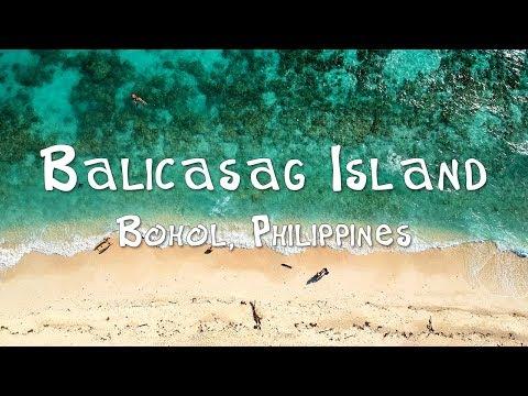 Balicasag Island, Bohol, Philippines. Virgin Island, Panglao Island Hopping.