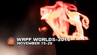 WRPF WORLDS-2016. PRO DIVISION.