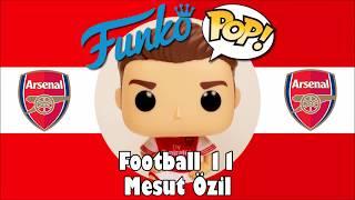 Arsenal football team Mesut Özil Funko Pop unboxing (Football 11)
