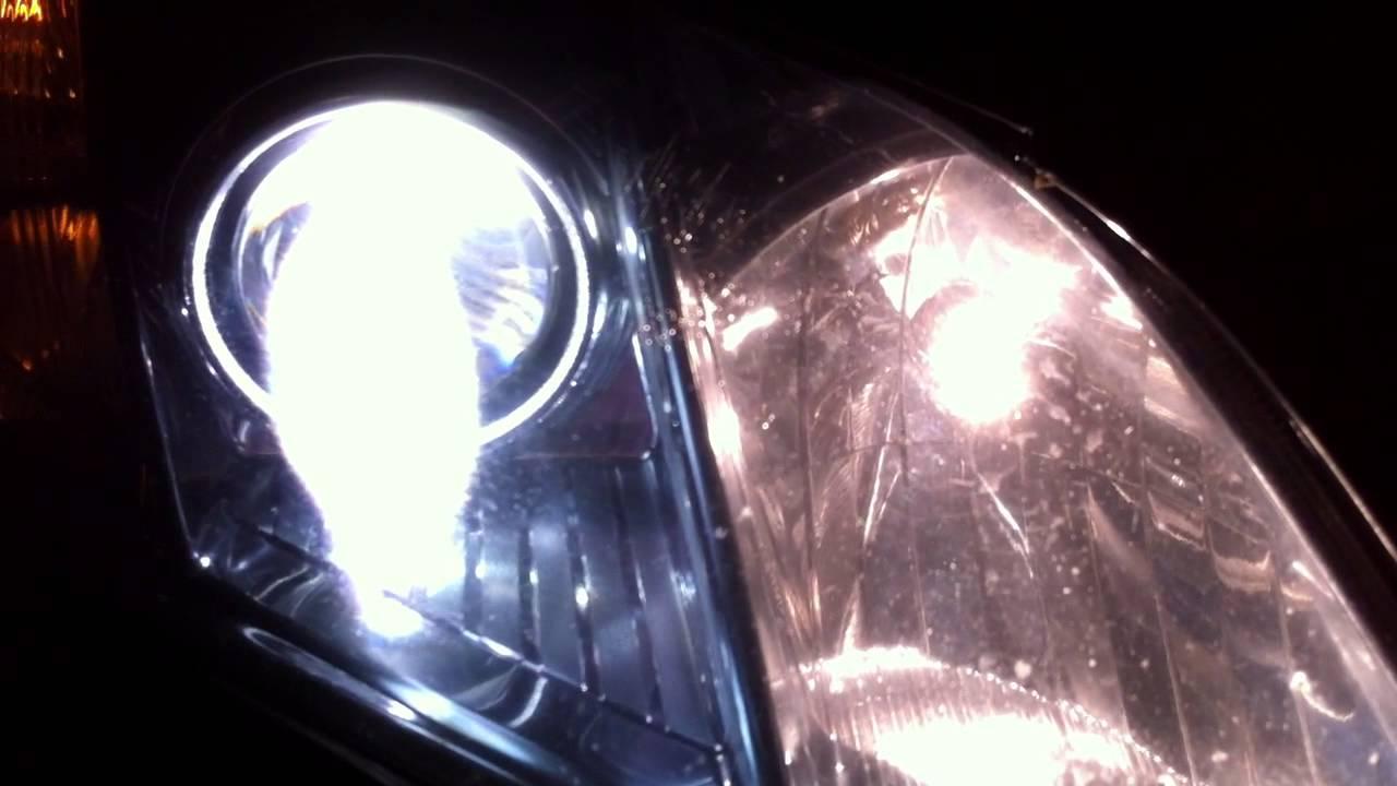 RightLight.ru - Toyota Camry (XV40) - Замена штатных линз на новые, биксеноновые.