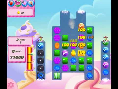 Candy Crush Saga Level 2834 - NO BOOSTERS