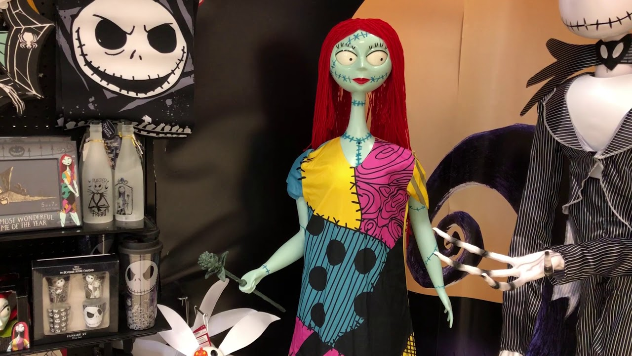 Spirit Halloween 2018: Sally - The Nightmare Before Christmas - YouTube