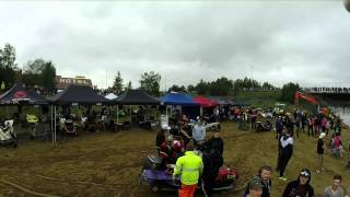 Water Cross Ivalo 2014 Aerial video