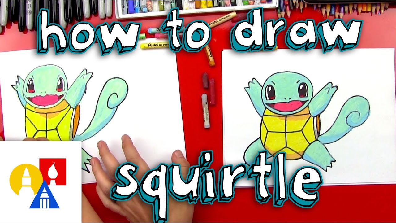 how to draw squirtle youtube