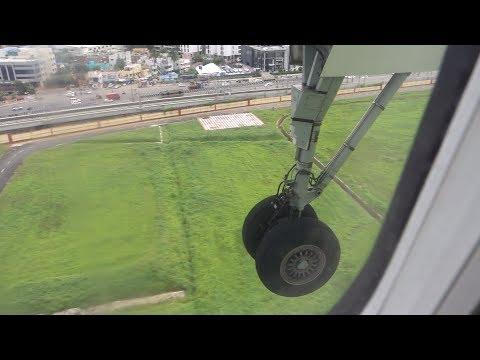 Landing in Chennai airport (Bombardier Q400)