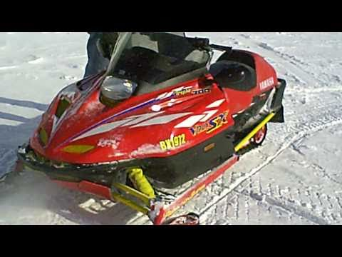 1997 Yamaha Vmax SX 700 Snowmobile LOT 837A