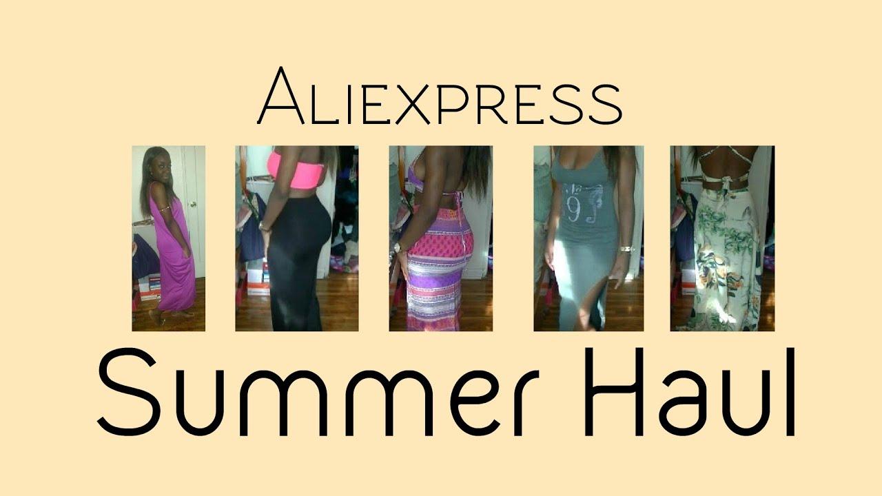Aliexpress COLLEGE BUDGET Summer Haul 2015