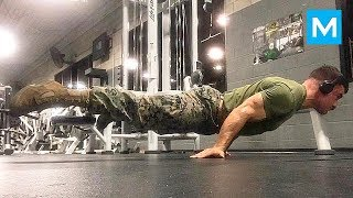 Strongest U.S. MARINE - Real Workouts - Julian Miguel Arroyo | Muscle Madness