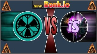 BEST NEW BALLS FIGHTING .IO GAME EVER! Bonk.io Taking everyone down! Diep.io w/o guns = bonk.io!