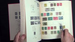 "Two Immaculate Stanley Gibbons ""New Imperial"" Stamp Albums"