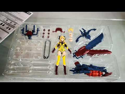 Unboxing of Armor Girls Project Yamato 2202 Armor x Yuki Mori Starblazers