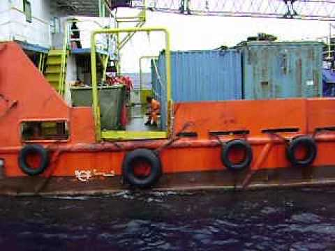Offshore Job,. Bunker Fuel oil during bad weather