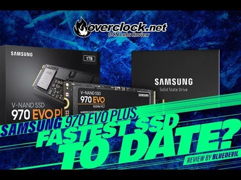 Samsung 970 EVO Plus Review Fastest M 2 NVME SSD?