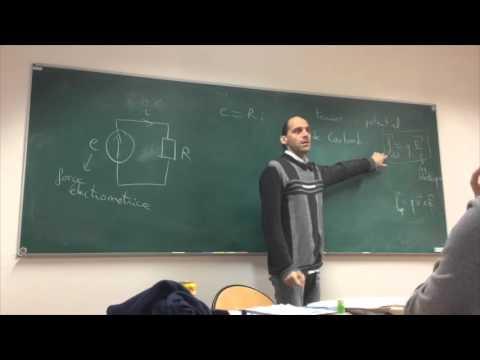 Électrocinétique / Séance 1 / Etienne Parizot / Master MEEF 2015-2016