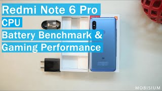 Redmi Note 6 Pro CPU | Battery Benchmark and Gaming performance.