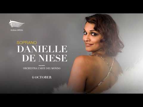 Soprano Danielle de Niese - Dubai Opera -  6 October 2017