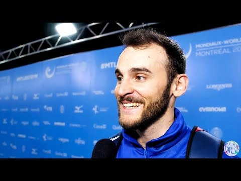 Tomas Gonzales (CHI) Interview - 2017 World Championships - Floor Final