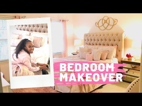 BEDROOM MAKEOVER + Room Tour On A Budget 🤑 THANKS to Habitat Restore