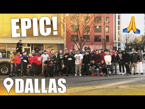 Episode #5: Dallas, Texas Meet & Greet!! 1/06/2018 SUPER LOVE OUT THIS WAY💪🏾!!