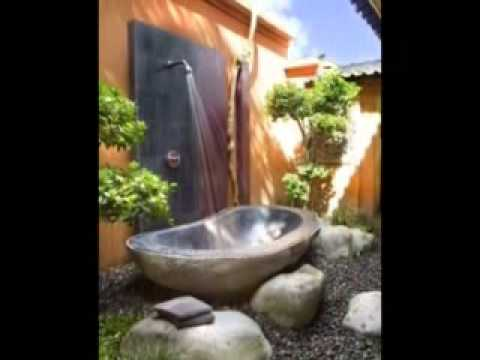 Outdoor Bathroom Designs bathroom ideasawesome outdoor garden with luxury bathroom with wood glass bathroom shed plus classy Best Outdoor Bathroom Designs Part I 1 22