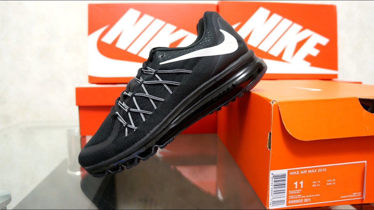 nike air max 2015 blackwhite