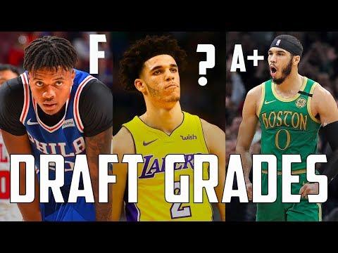 Grading EVERY 2017 NBA Draft Lottery Pick Three Years Later...