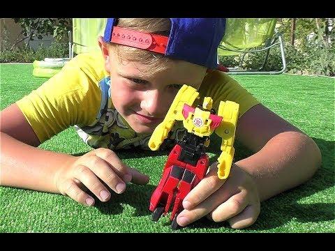 ТРАНСФОРМЕРЫ Автоботы Про машинки Бамблби Для мальчиков Transformers for kids Toys for Boys
