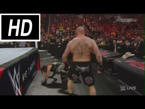 SHOCKING! Brock Lesnar DESTROYS Seth...