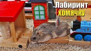 Реакция ХОМЯКА на Город Железной Дороги ТОМАС И ЕГО ДРУЗЬЯ - Hamster and Thomas Railway