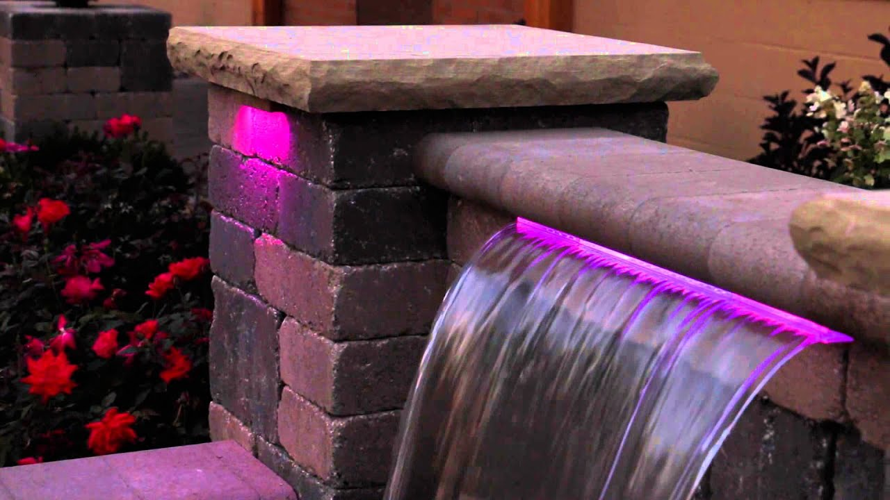 Atlantic Color Changing Hardscape Lights With Colorfalls