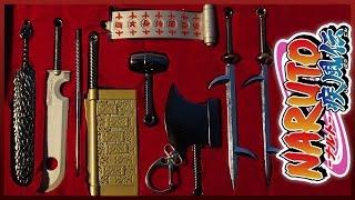 Наруто набор мечей 7 мечников тумана - 7 Swordsmen of the mist swords