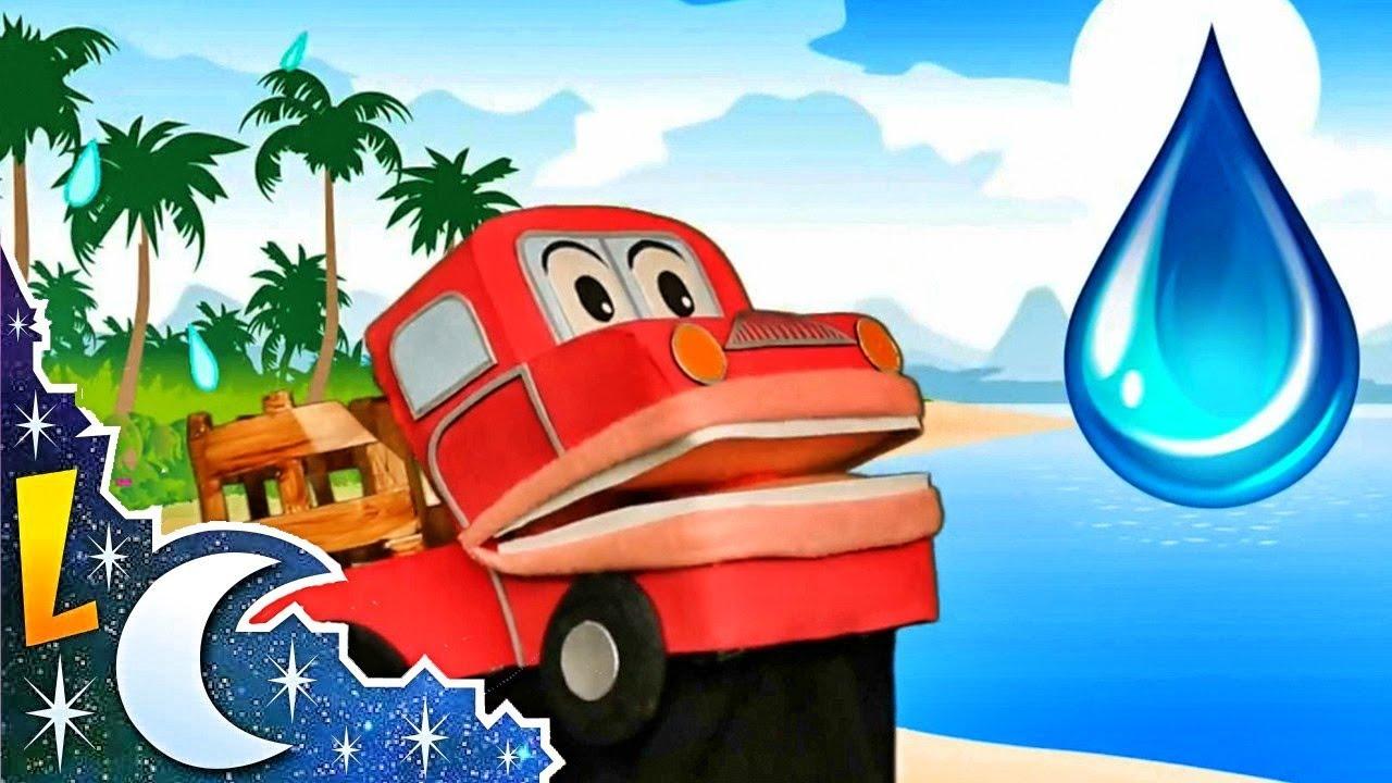 El Ciclo del Agua para Niños   Barney El Camión   Lunacreciente