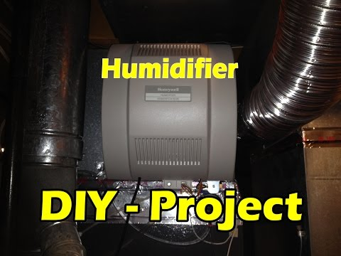 humidifier hook up to furnace