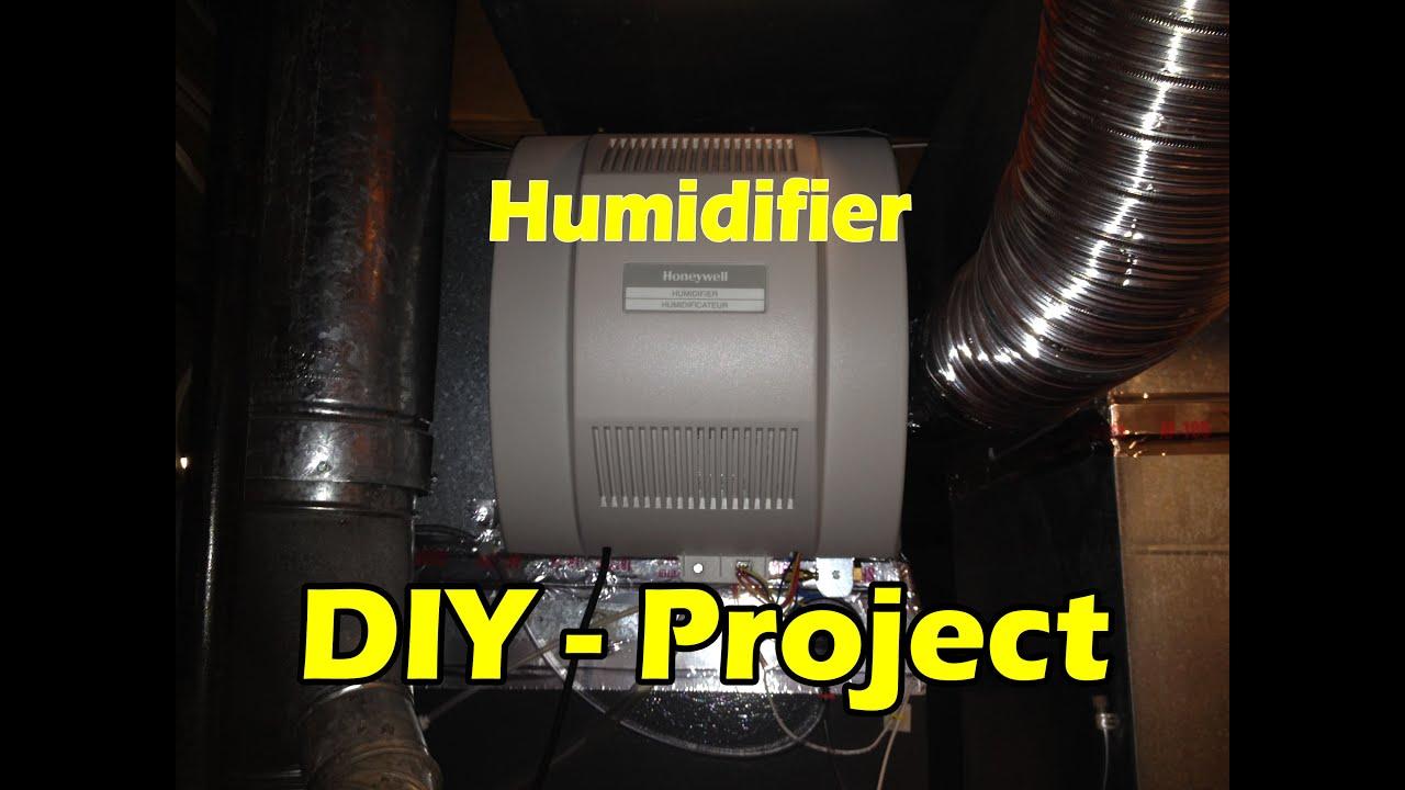Honeywell Humidifer Install