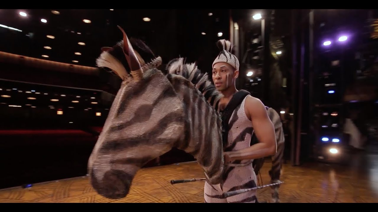Zebra From Circle Of Life The Lion King Youtube
