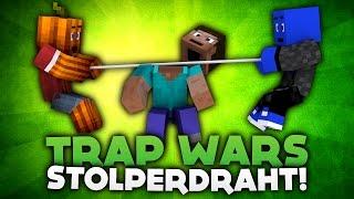 ACHTUNG STOLPERDRAHT - MINECRAFT TRAP WARS