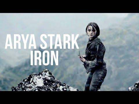 arya stark; iron