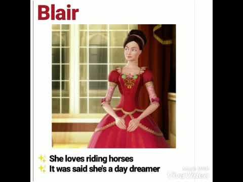 Barbie All 12 Dancing Princesses With Names Description