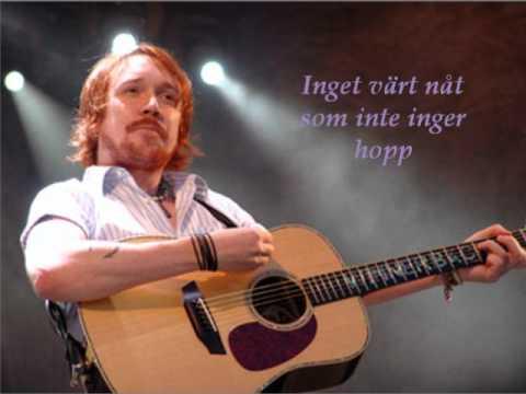 Lars Winnerbäck - Faller (lyrics)