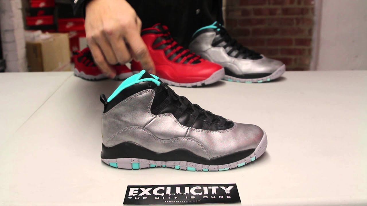 f0f1cf6c145 Ladies Air Jordan 10 Retro 30th
