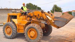 बड़ा ट्रैक्टर टूट गया - डिमा मरम्मत ट्रैक्टर