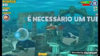 Hungry shark evolution #1 = o inicio do jogo