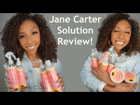 """Jane Carter Solution """"Curls To Go""""  line! FULL REVIEW!   BiancaReneeToday"""